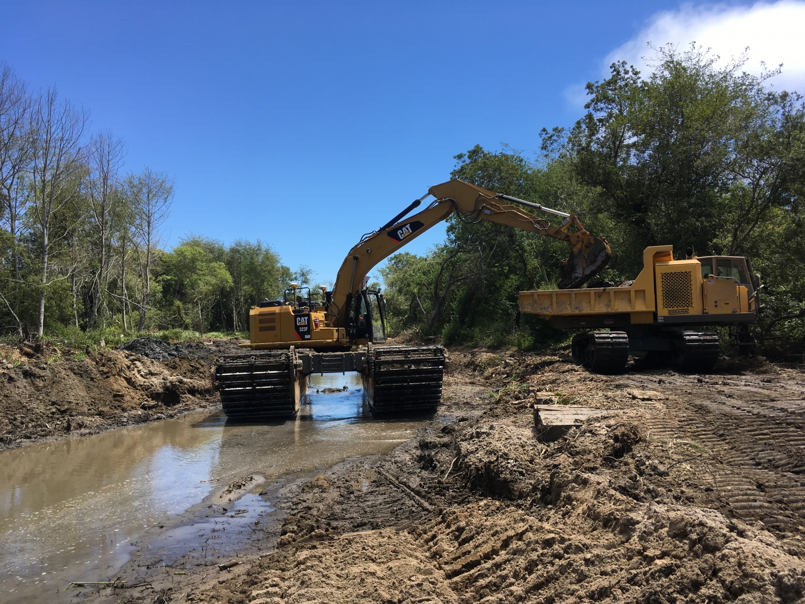 Sediment Removal, July 2019