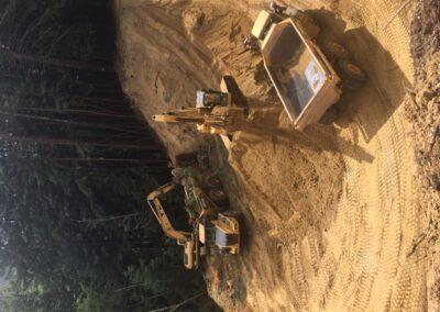 DG Week 4: Crossing excavation.