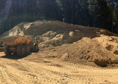 DG Week 14: Pano of shrinking stockpile area